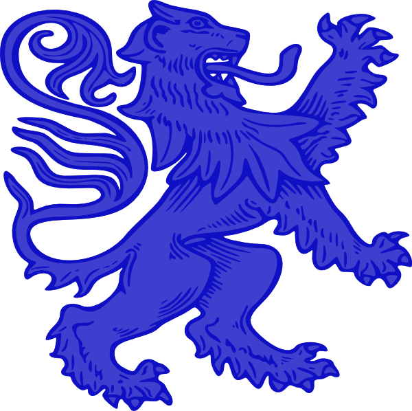 Medieval clipart lion. Lions for free download