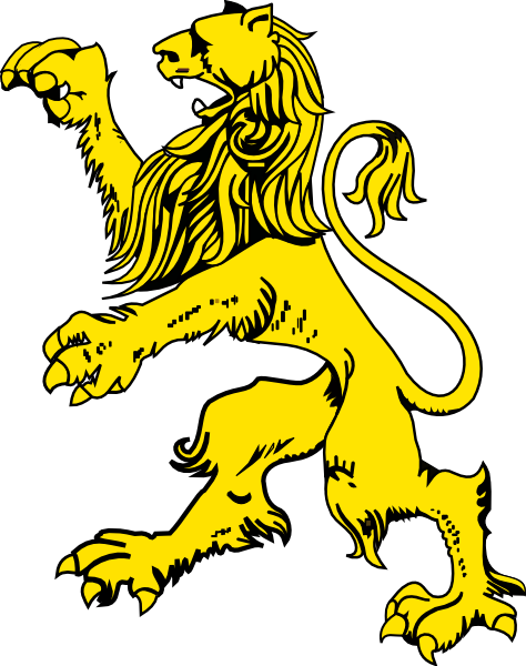 Clip art at clker. Medieval clipart lion graphic download