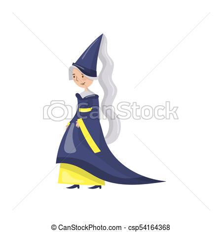 Medieval clipart maid. Of honor the queen jpg black and white library