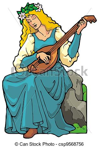 Clip art . Medieval clipart maid picture free stock