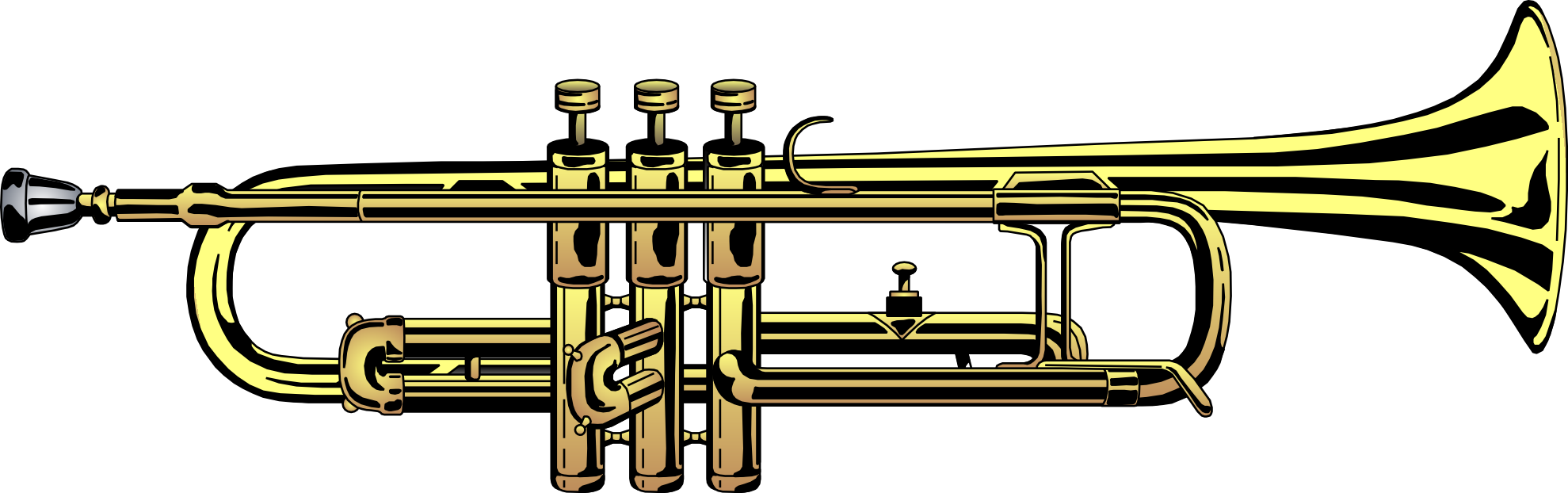 Medieval clipart trumpet. Free images download clip