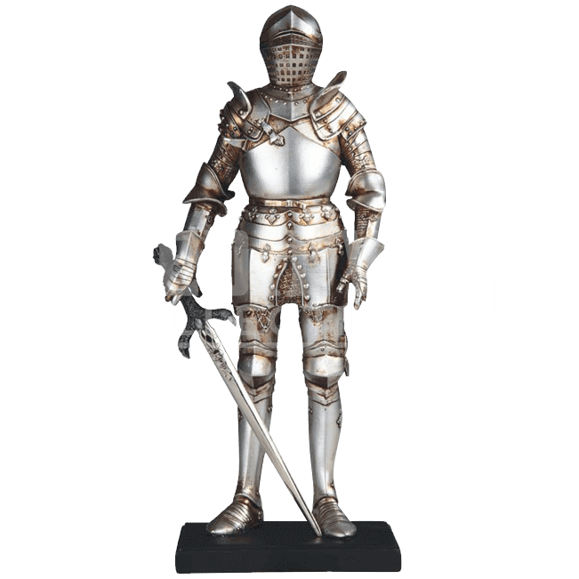Midevil statue vector png. Medieval knight image background