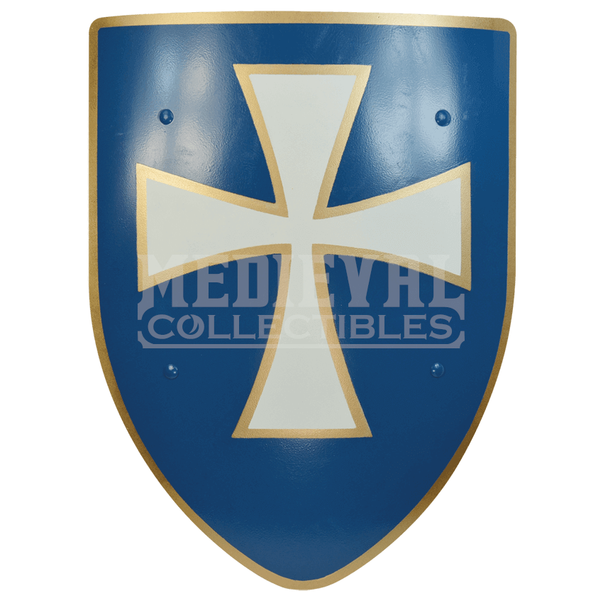 Medieval shield png. White cross steel battle