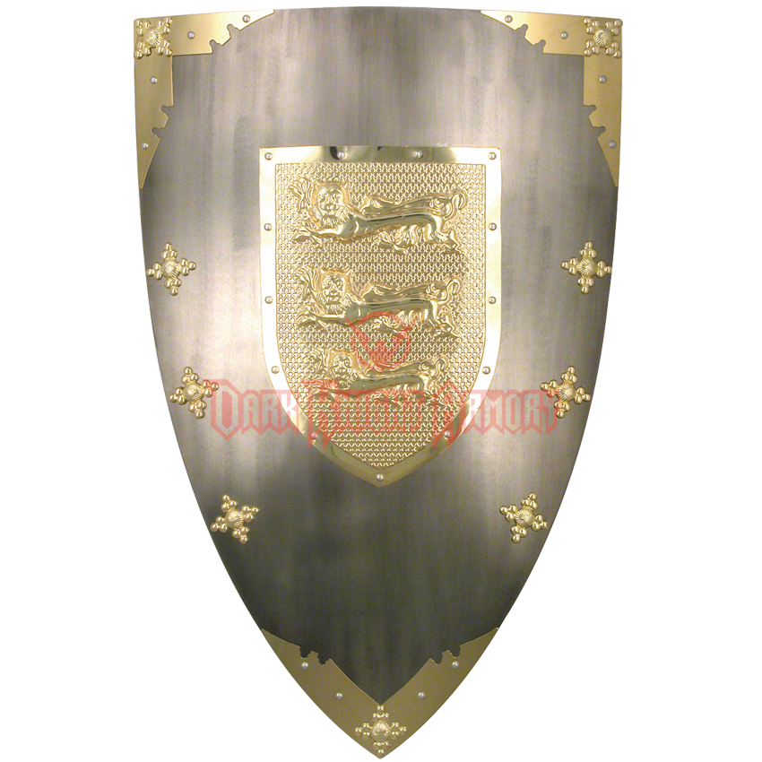 Medieval shield png. Decor of richard the