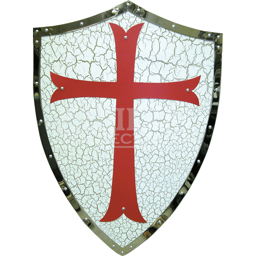 Medieval shield png. Decor of the templar
