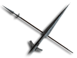 Medieval spear png. Thrusting chivalry warfare wiki
