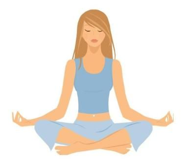 Relax clipart yin yoga. Free relaxing clip art svg library