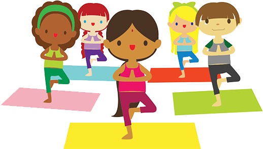 Yoga clipart aerobic. Meditation kid free on