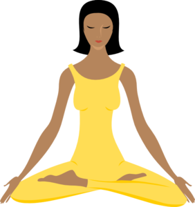 relax clipart yoga