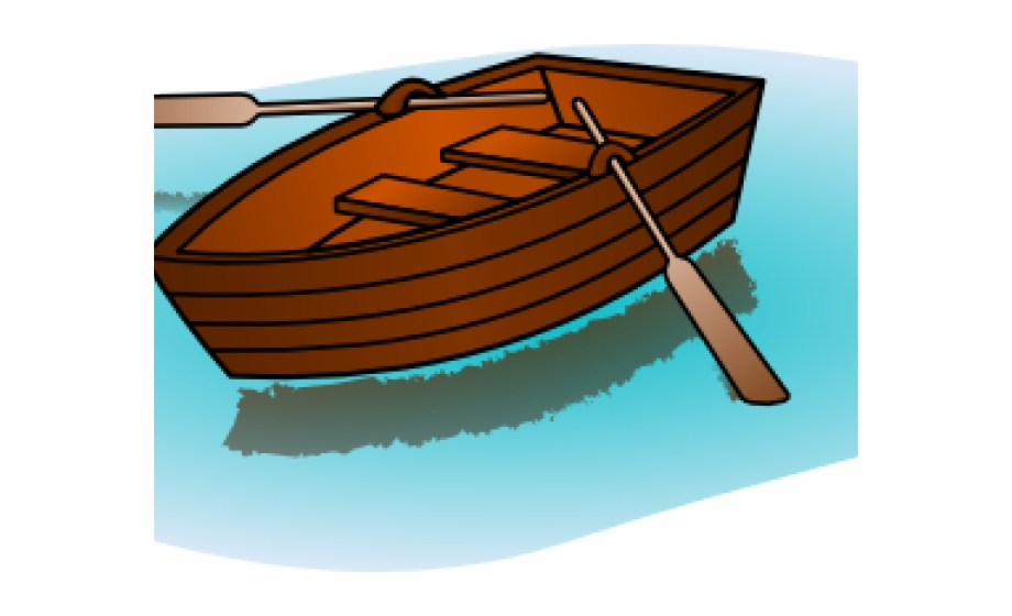 Orange canoe. Download for free png