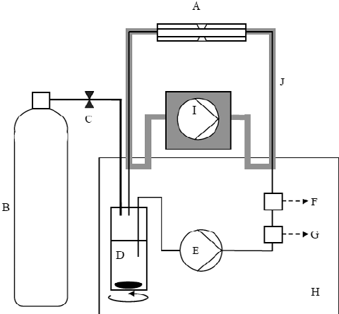 Small diving chamber. Details of systemic configuration