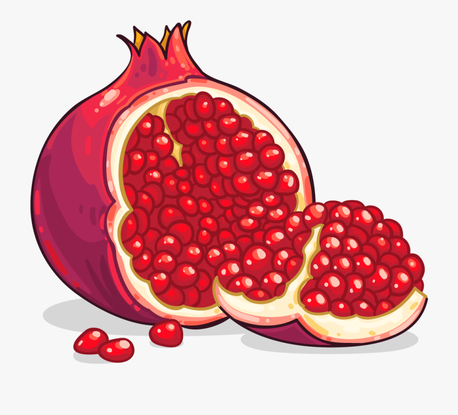 Medium pomegranate. Png images free download