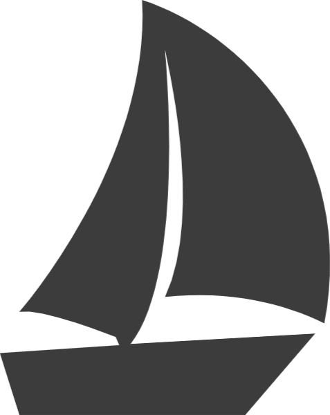 Medium sailboat. Free online sailing boats