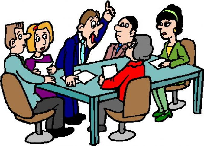 Meeting clipart board meeting. Free for meetings vector