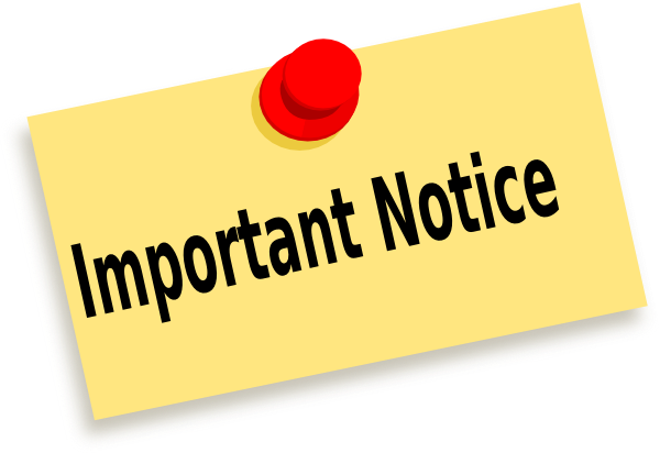 Reminder clipart meeting announcement. Free notice cliparts download