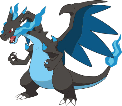 Charizard vector pokemon red. Imagen mega x anime