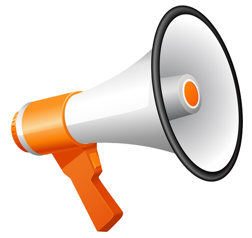 Megaphone man png. The top best blogs