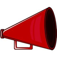 Red megaphone png. Download category clipart and