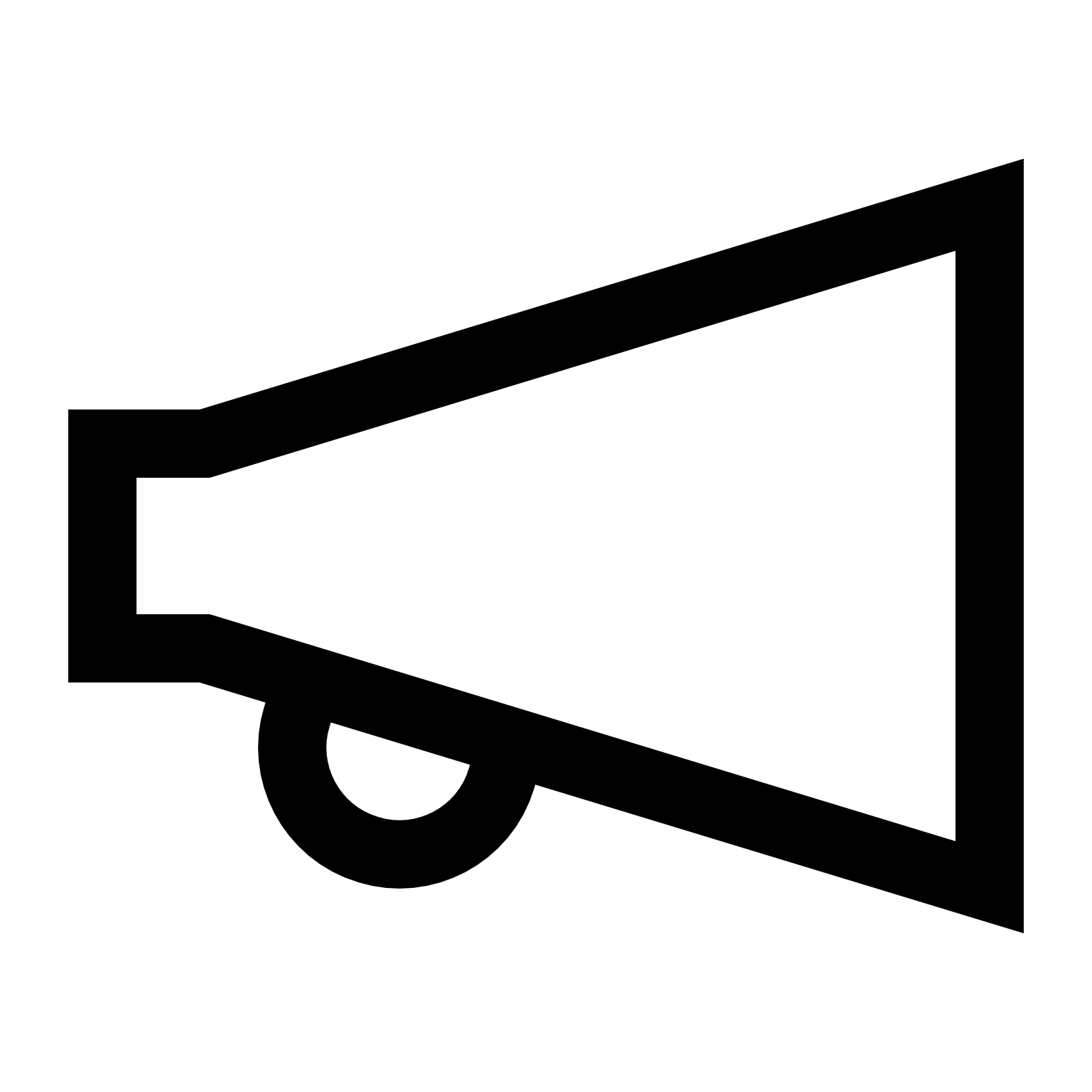 Vector megaphone simple. Free icon png download