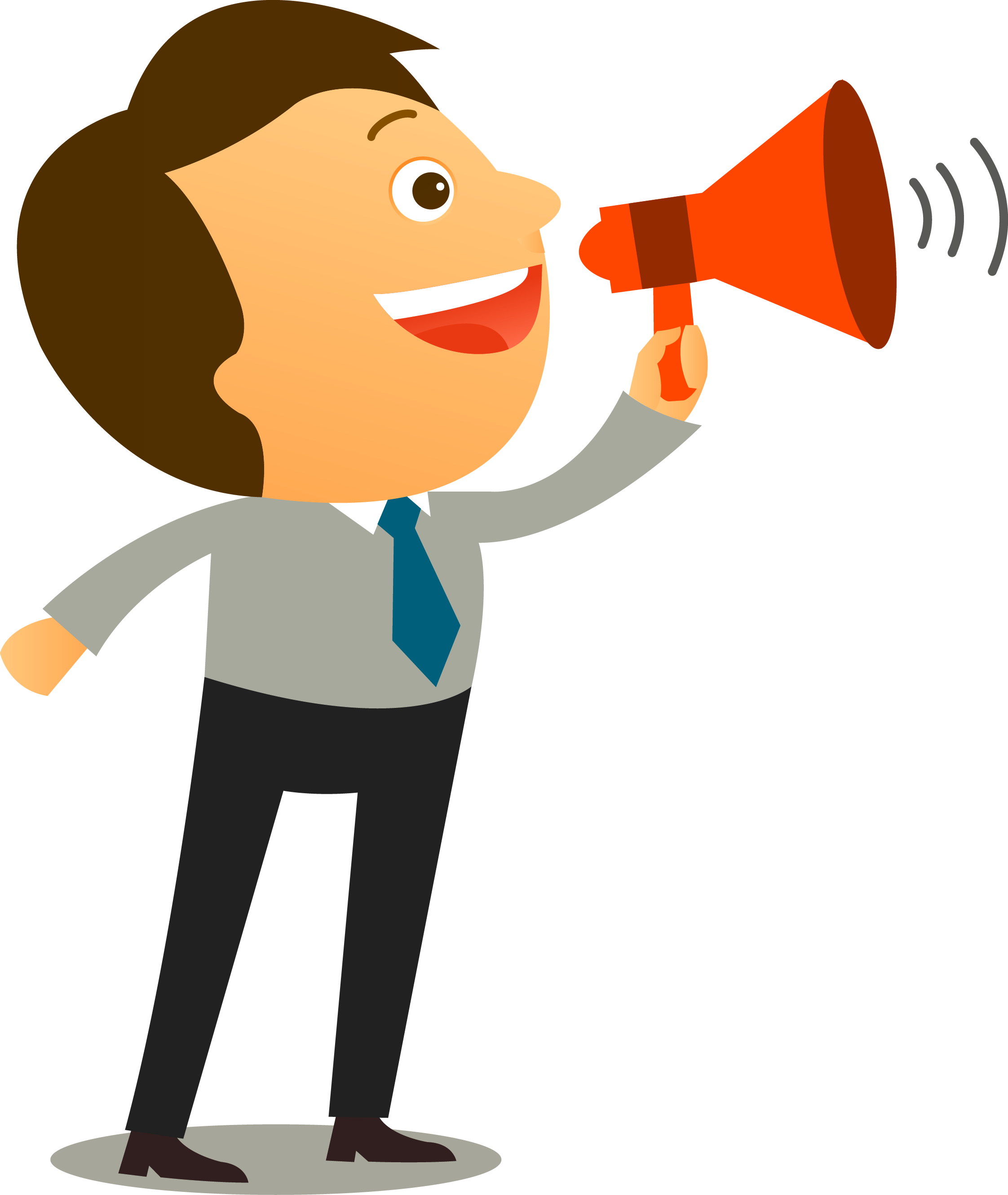 Megaphone man png. Assertiveness communication coaching interpersonal