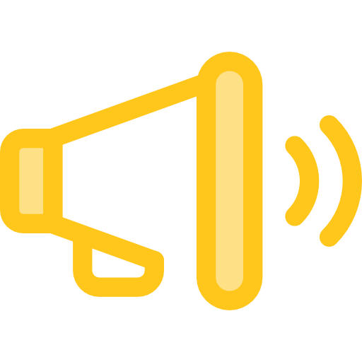 Megaphone png. Icon page svg