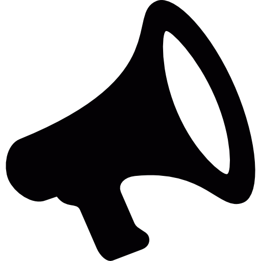 icons transparent megaphone
