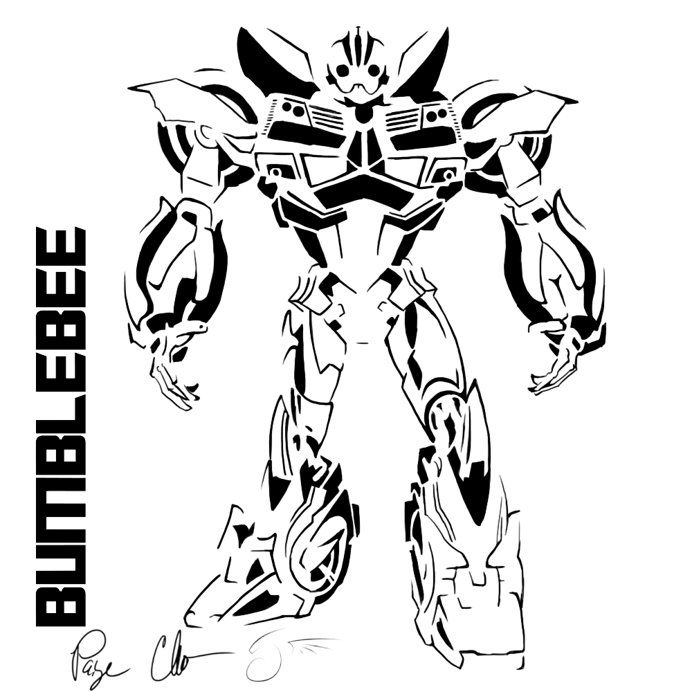 Megatron drawing. Bumblebee transformers at getdrawings