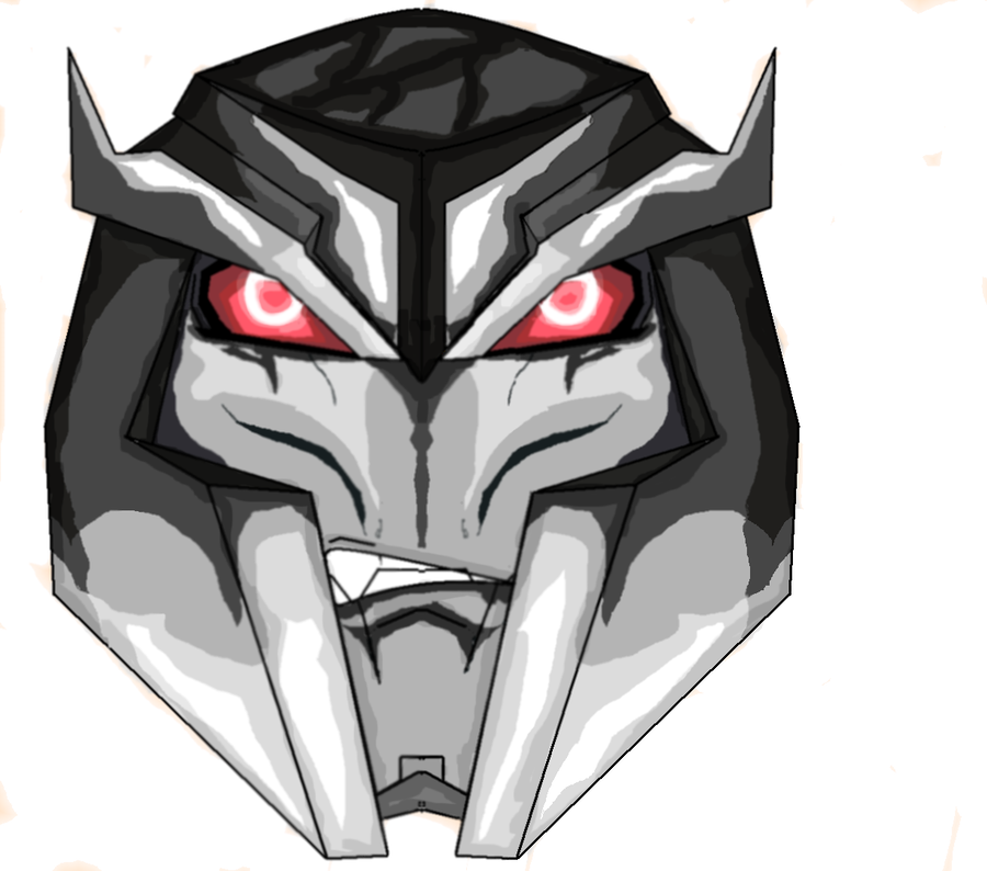 Megatron drawing tf prime. Transformers by grufflock on