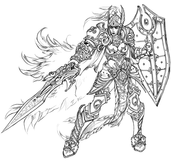 Megatron drawing concept art. Dungeons dragons character model