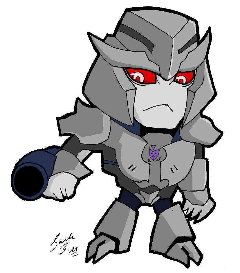 Megatron drawing tfp