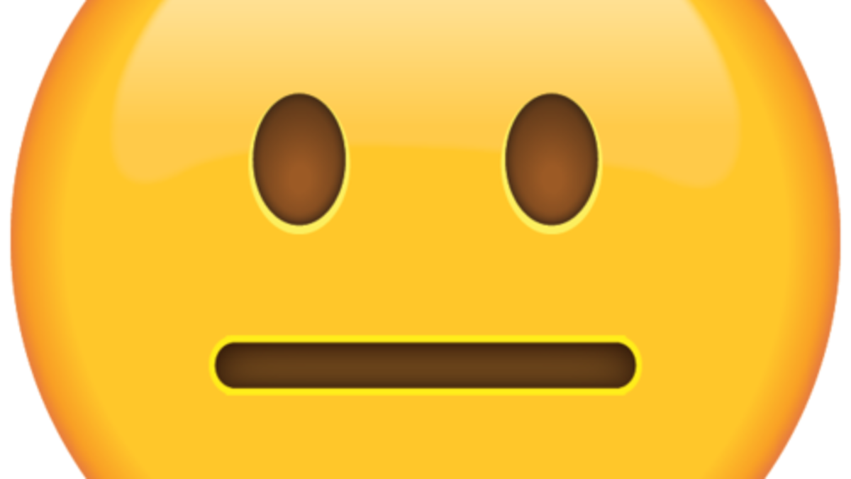 Meh emoji png. An only review of