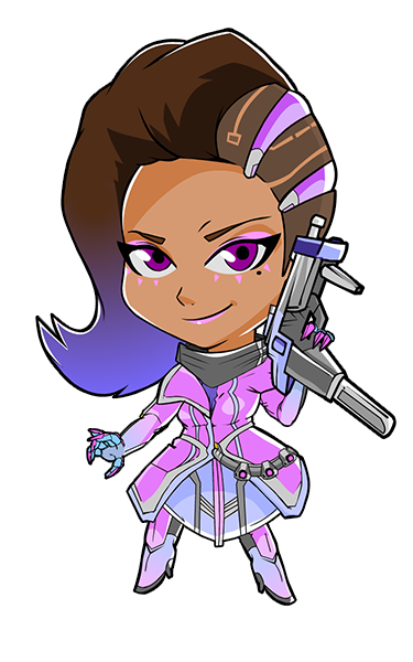 Mei from overwatch cute spray png. Sombra httpiimgurcomqmtqopng i made