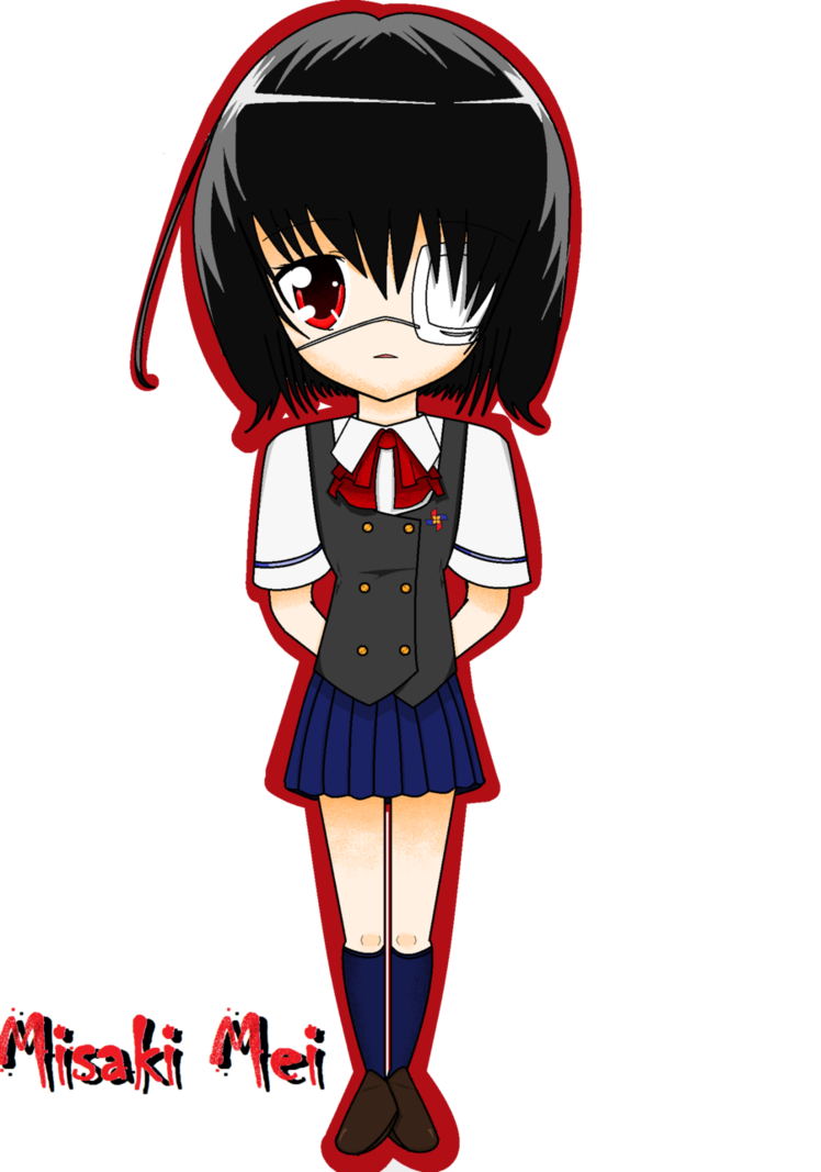 Mei misaki chibi png. Another by darkmelodys on