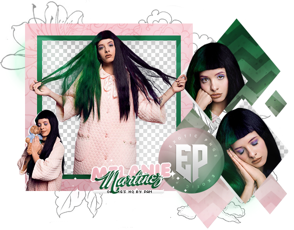 Melanie martinez hair png. Pack by exoticpngs on