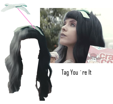 Melanie martinez hair png. Image tag youre it