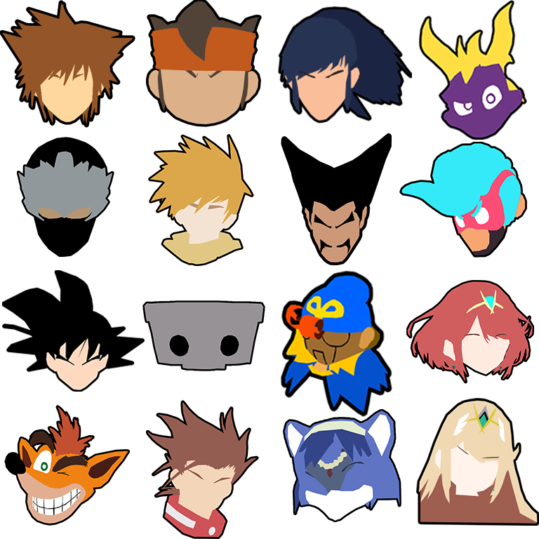 Melee stock icons png. Can t contain my