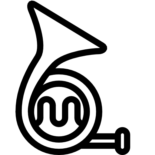Mellophone drawing simple. French horn at getdrawings