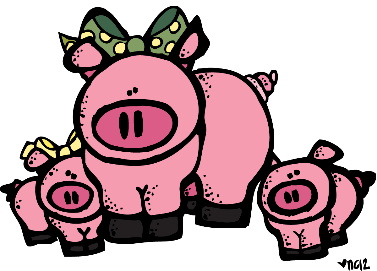 Melonheadz animals png. Cow google search pigs