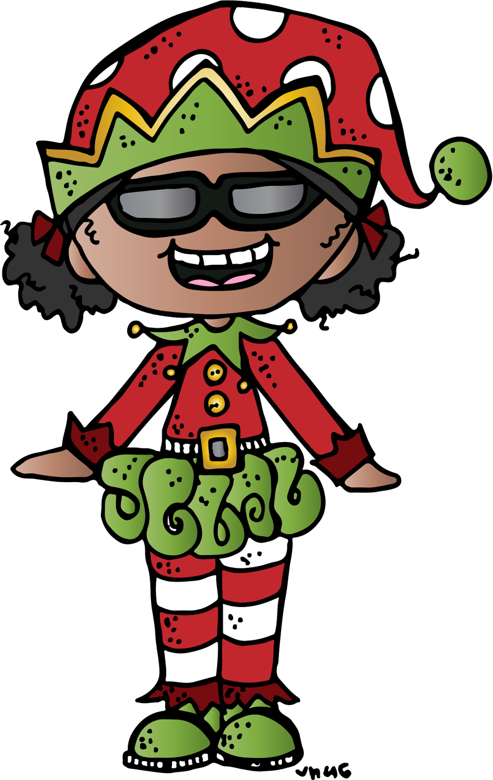 Elf clipart melonheadz. Giving tuesday winners have