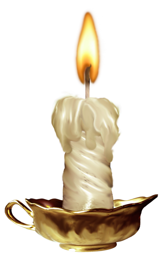 Melted candles png. Candle image
