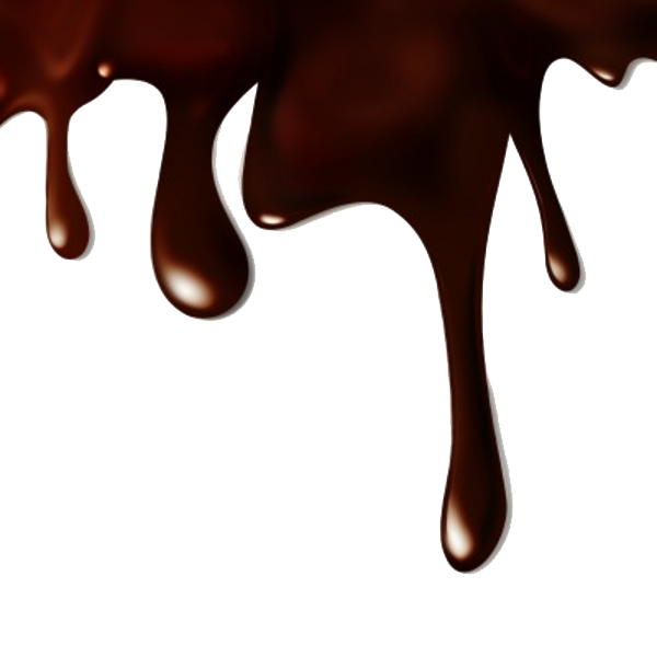 melted chocolate background png