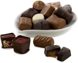 Melting vector chocolate drop. Facts about trivia of