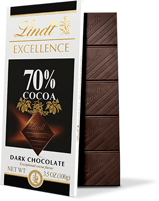 Melting vector chocolate day. Excellence lindt master chocolatier