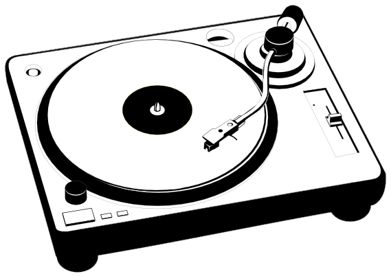 Turntables drawing disc