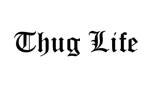 Thug transparent pdf. Life png images glasses
