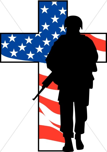 Soldier clipart memorial day. Images sharefaith solider cross