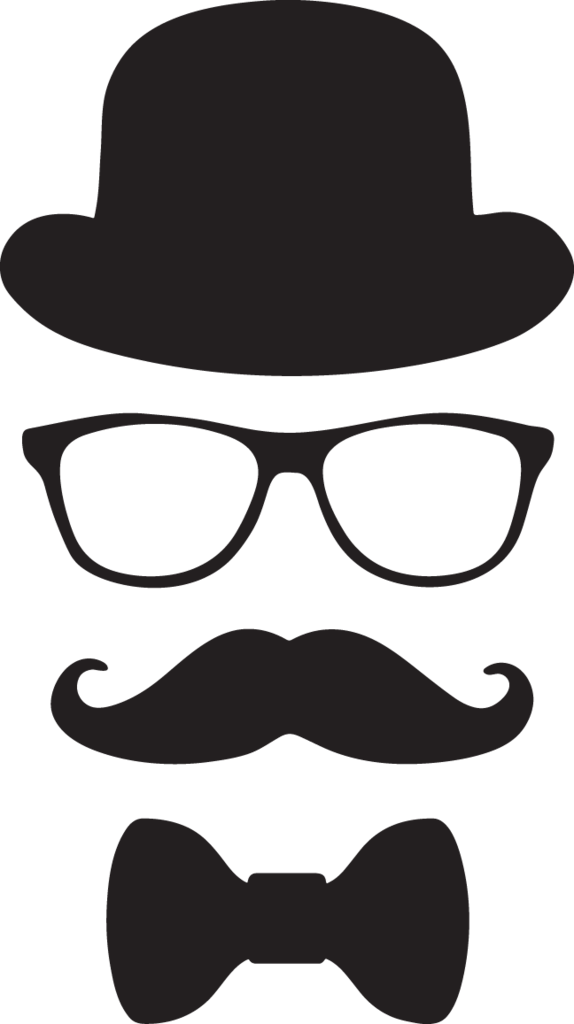 mustache png little man
