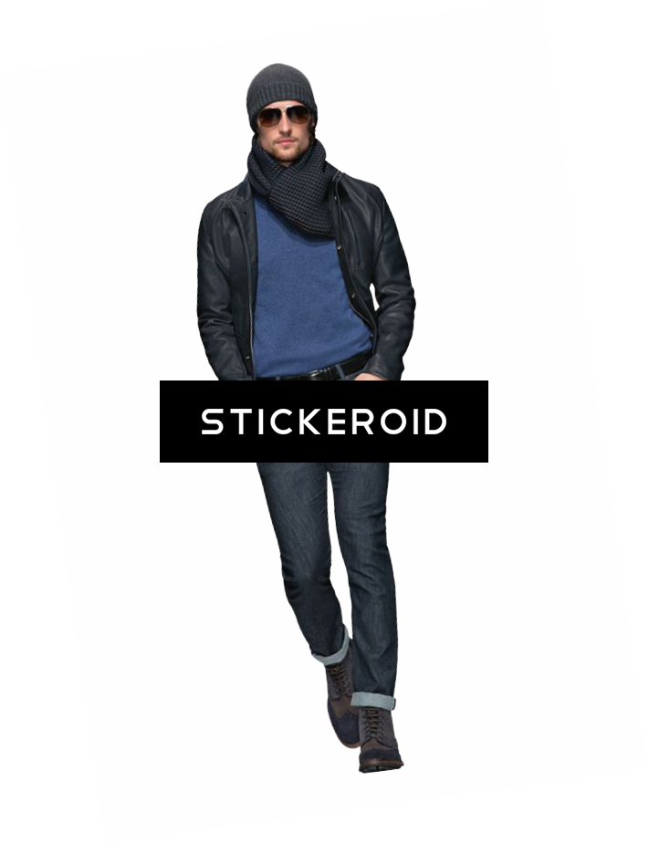 Mens fashion png. Clipart model