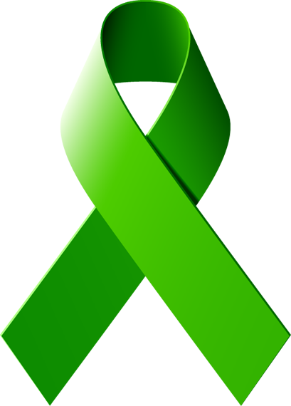 mental health awareness ribbon png
