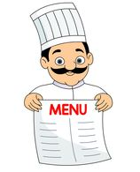 Menu clipart chef cook, Picture #128130 menu clipart chef cook
